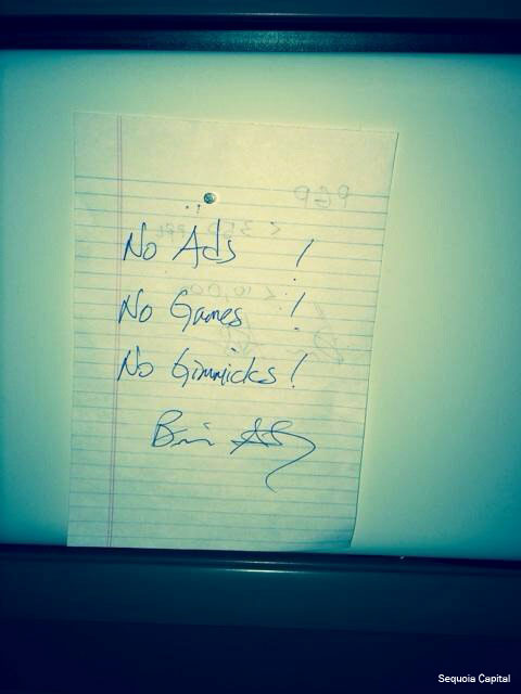 notes in jan koum's desk