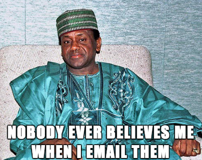 prince nigeria scammer