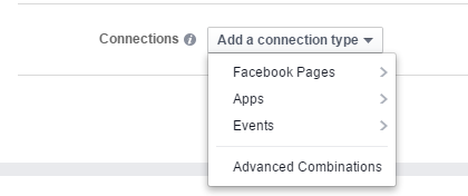 instagram ads connections