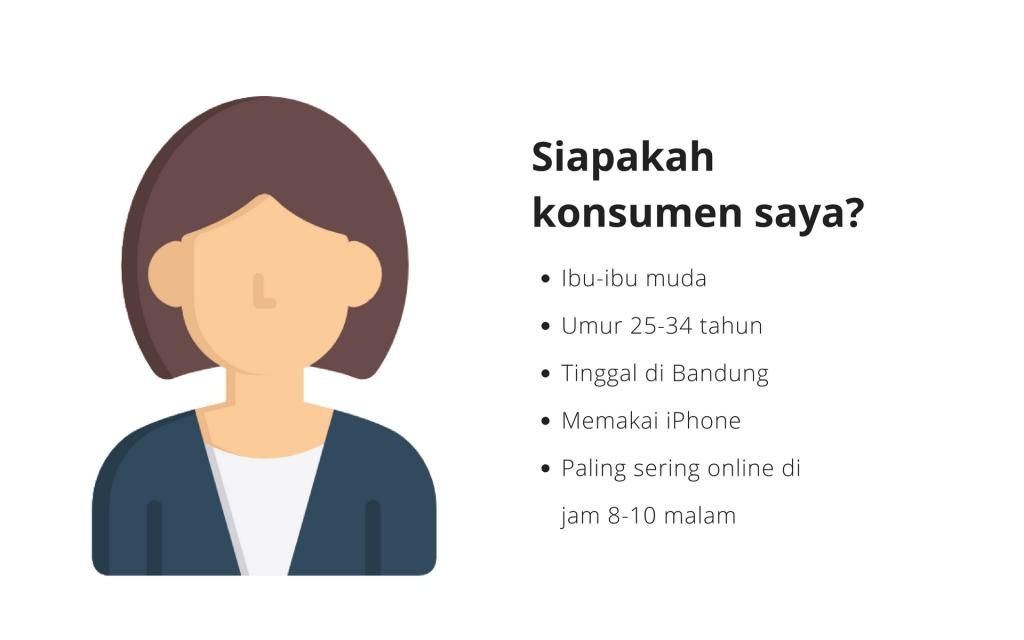 Contoh profile konsumen di digital